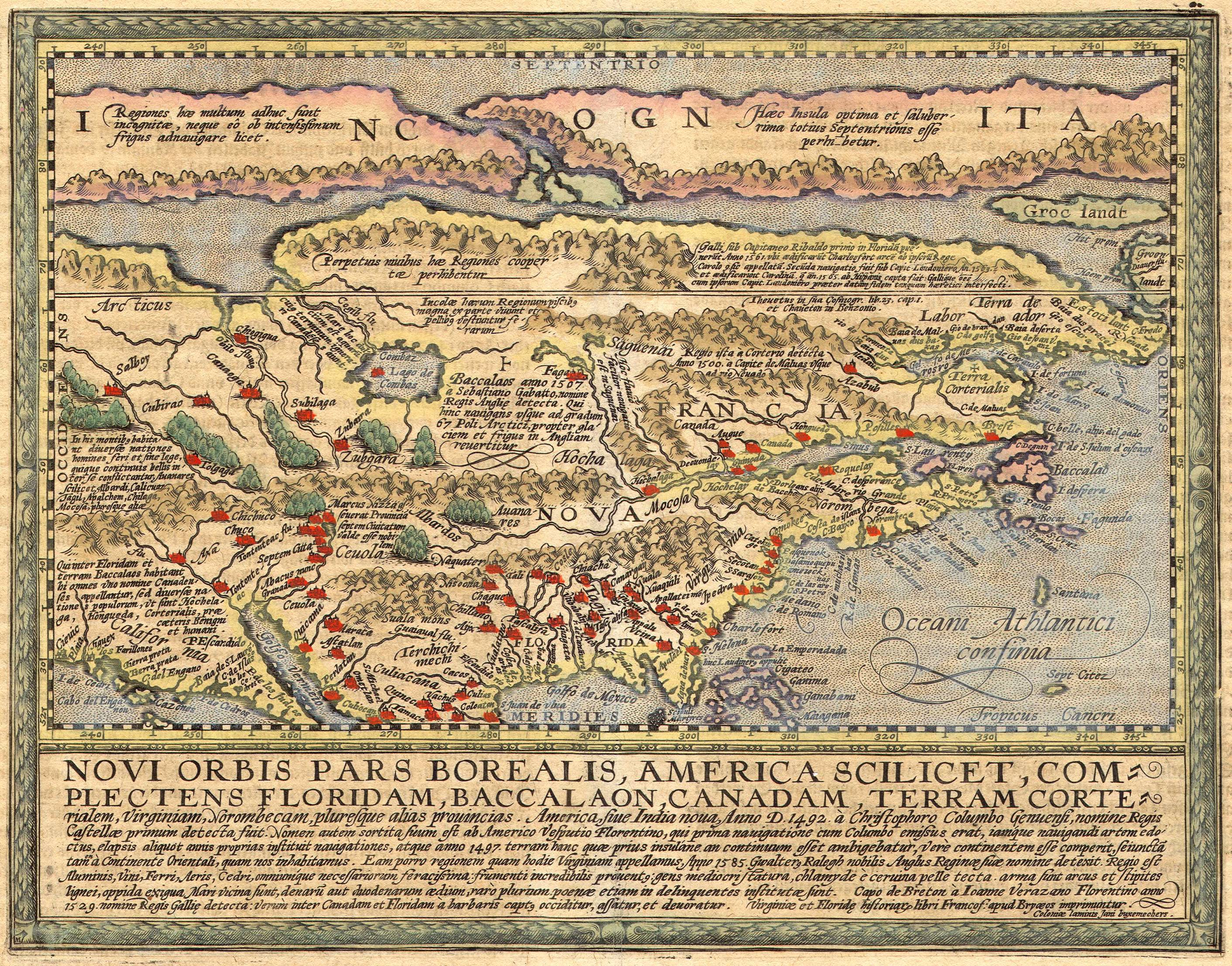 The Art Of MapsMatthias Quad  Map Of North America  Mapsys - Florida quad map