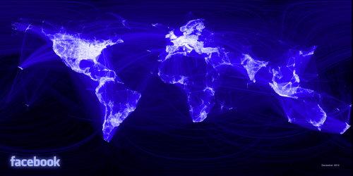 Facebook activity visualization