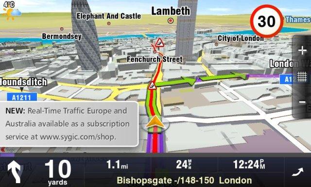 Revolutionary Sygic Aura GPS navigation   Mapsys info Mapsys