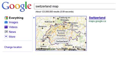 Switzerland Map Box Boundary
