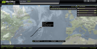 Met Office Storm Tracker