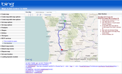 Bing Maps v7 Interactive SDK
