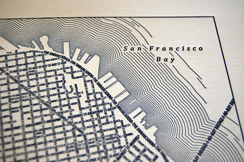 San Francisco letterpress