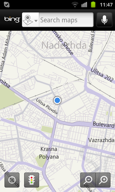 Microsoft S Bing Maps For Android Pleasant Surprise For
