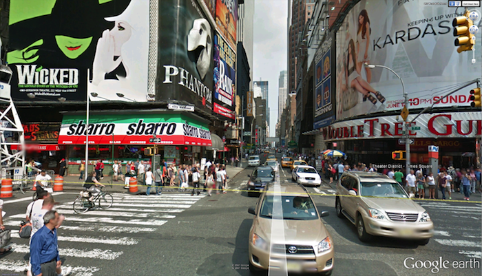 google earth street view
