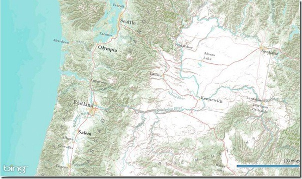 Bing Maps WPF Control with an ESRI Topographic Map Tile Overlay